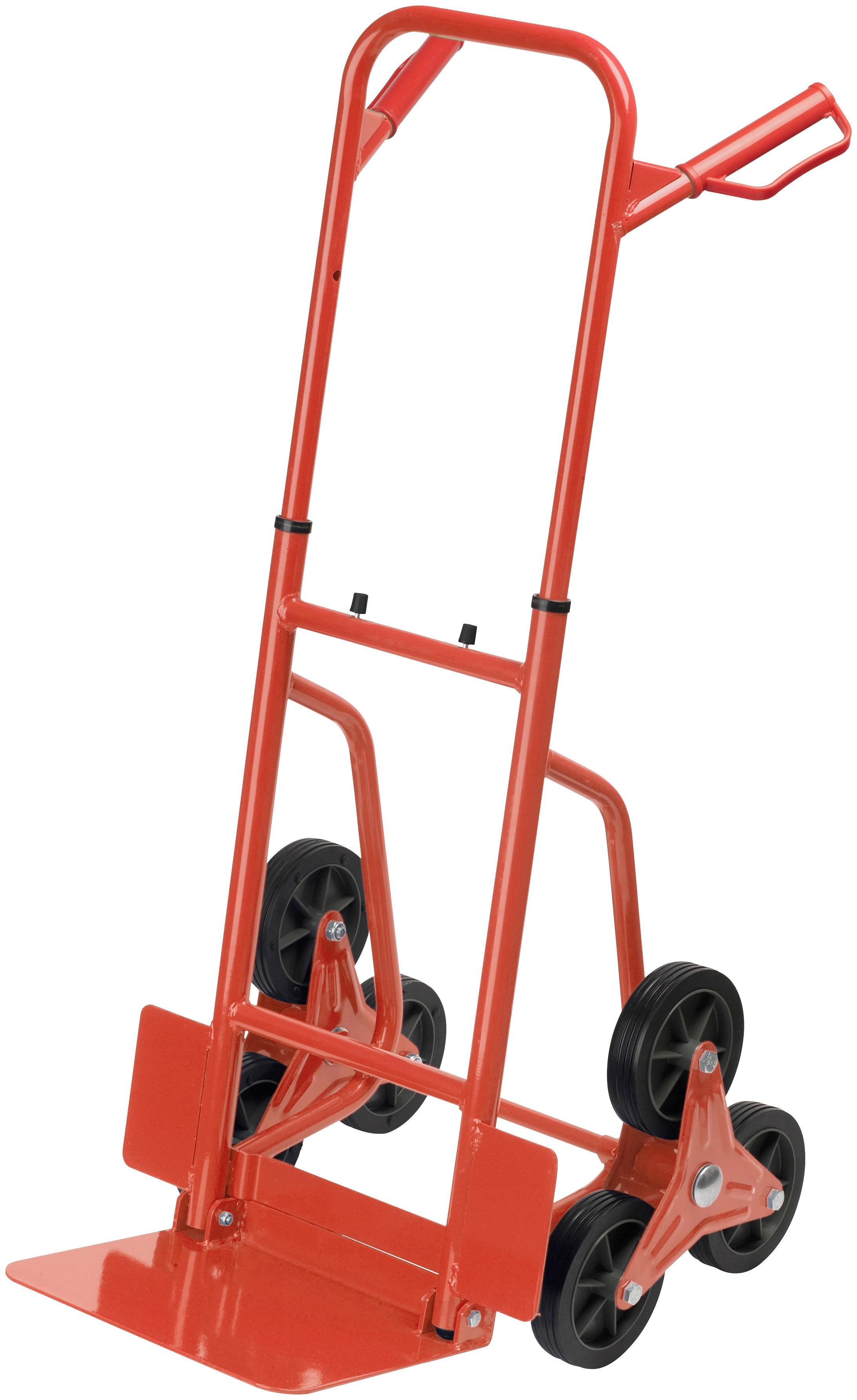 meister Treppensackkarre rot Sackkarren Transport Werkzeug Maschinen