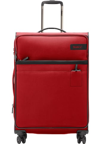 "Stratic Weichgepäck - Trolley ""Stratic Light L, red"", 4 Rollen kaufen"