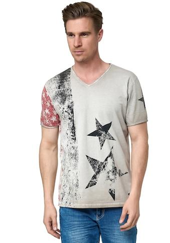 Rusty Neal T-Shirt, mit V-Neck kaufen