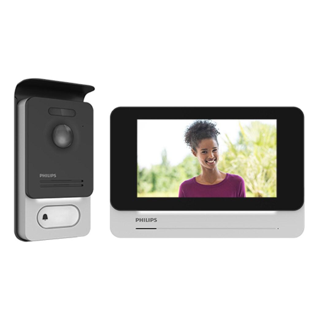 Philips Videosprechanlage - 2-Draht-Technik- 7-Zoll-Touch-Display »WelcomeEye TOUCH«