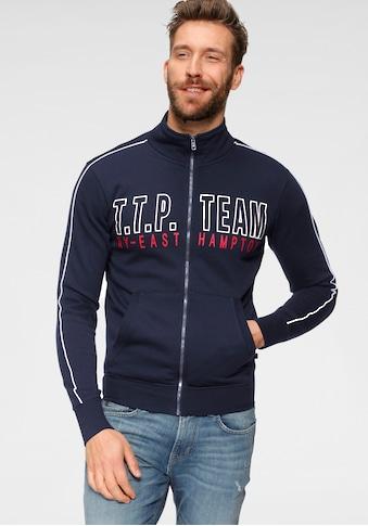 TOM TAILOR Polo Team Sweatjacke, mit großem Logoprint kaufen