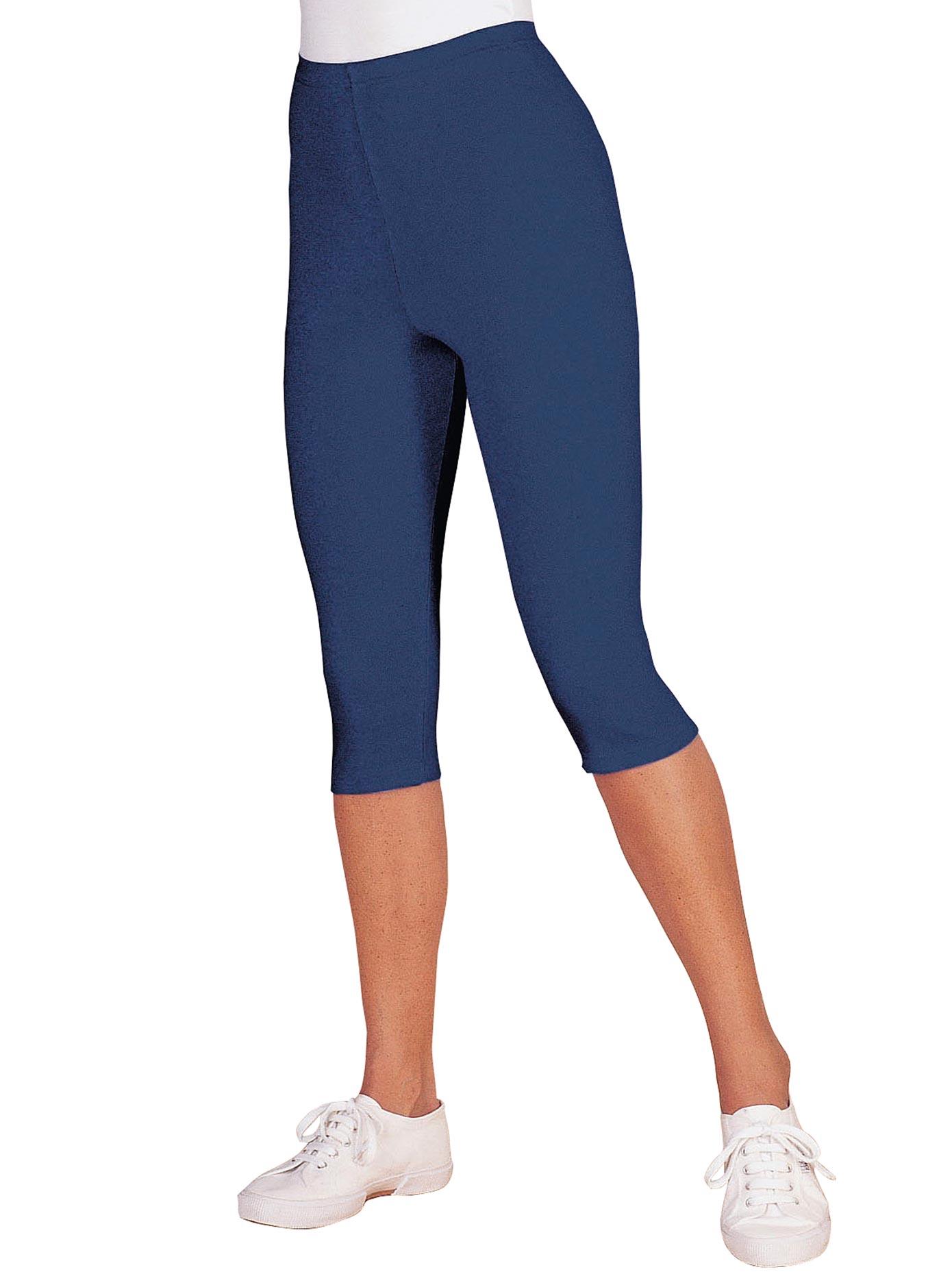classic basics capri leggings mit gummizug auf rechnung baur. Black Bedroom Furniture Sets. Home Design Ideas