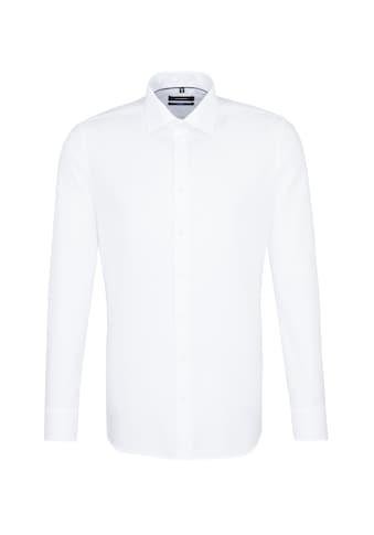 seidensticker Businesshemd »Shaped«, Shaped Extra langer Arm Kentkragen Uni kaufen