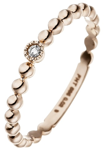 JOBO Diamantring, 585 Roségold mit Diamant kaufen