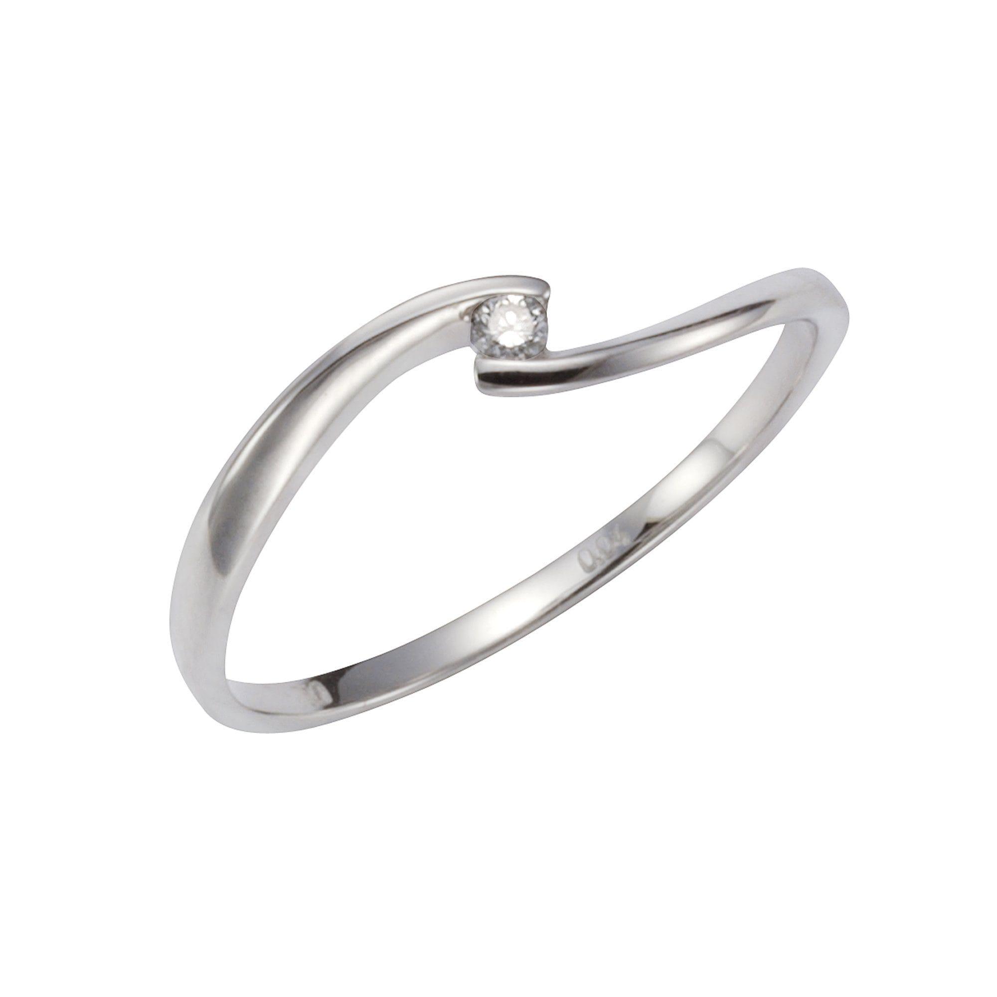 Orolino Ring 585/- Weißgold Brillant   Schmuck > Ringe   Weiß   Si