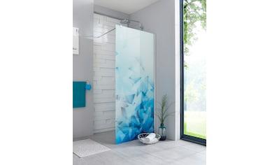 maw by GEO Walk-in-Dusche »Relax«, Breite 80 cm, Bildmotiv, Duschabtrennung kaufen