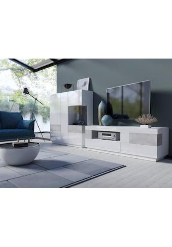 TRENDMANUFAKTUR Wohnwand »SILKE«, (Set, 2 St.) kaufen