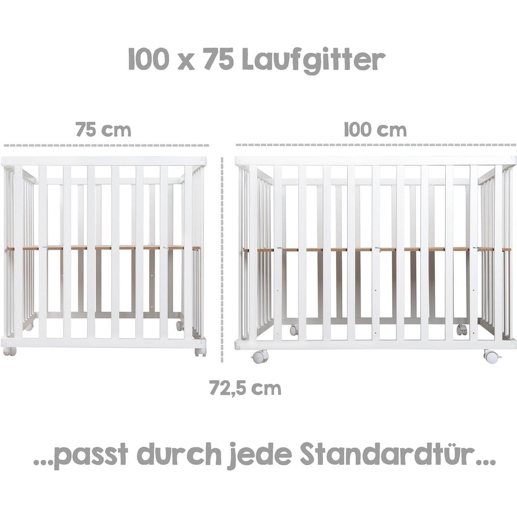 roba® Laufgitter »Sternenzauber grau, 100x75«, bis 15 kg