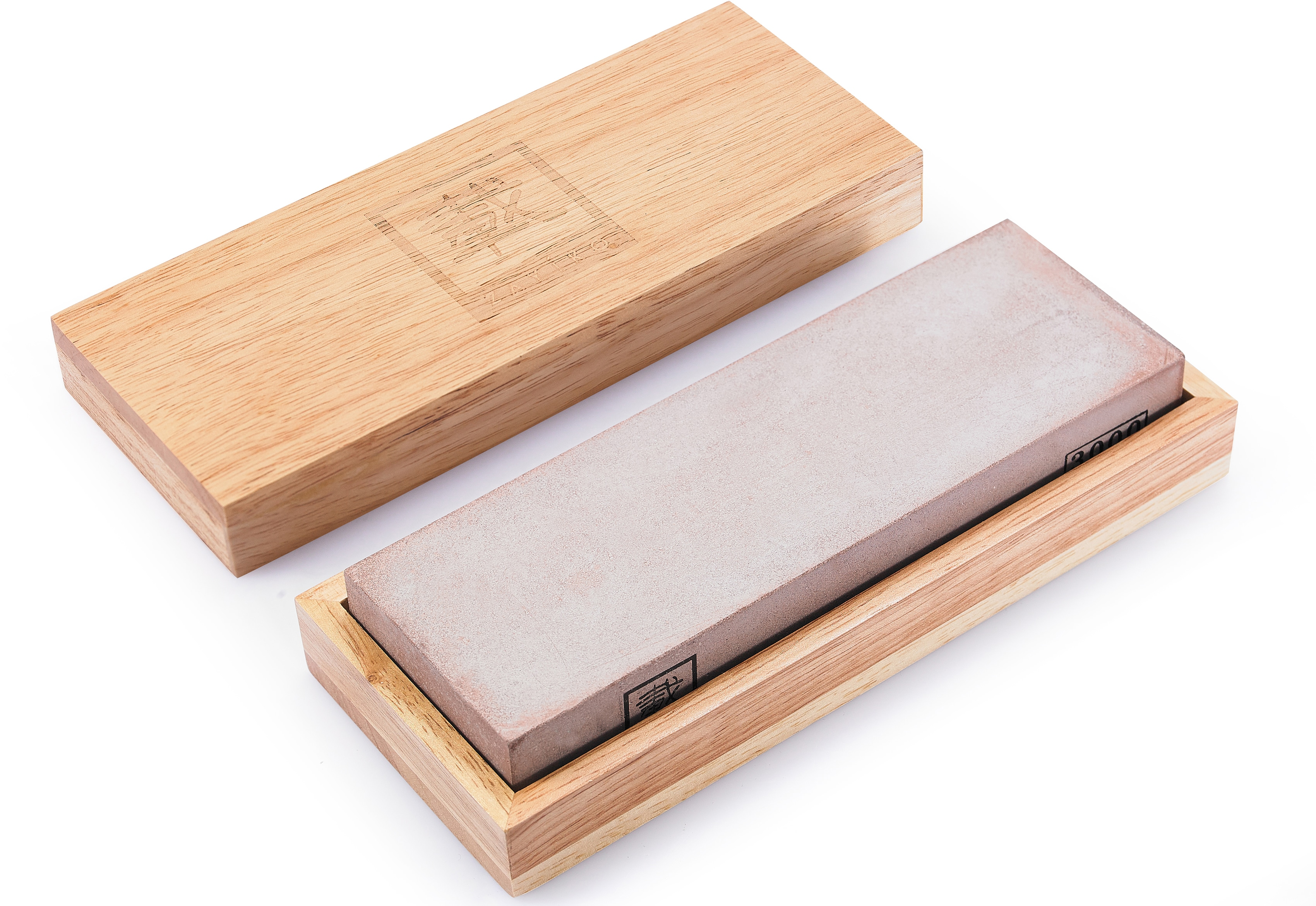 ZAYIKO Schleifstein, Körnung 3000 grau Besteck Messer Schleifstein