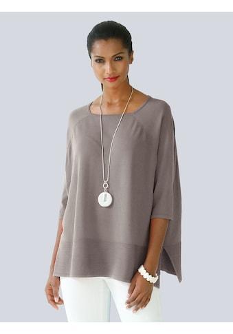 Alba Moda Pullover in Oversized - Form kaufen