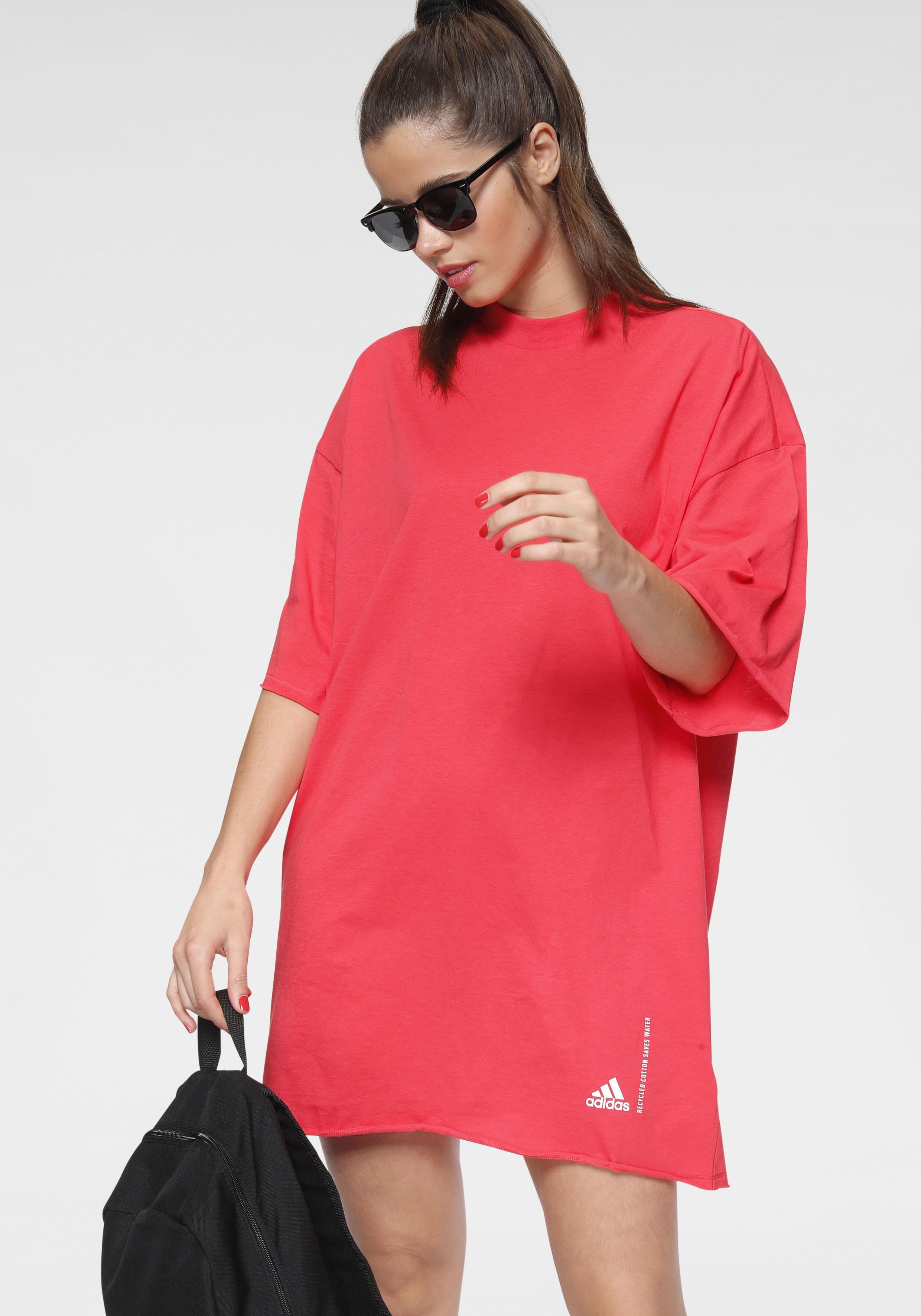 adidas performance -  Shirtkleid RECYCLE COTTON TEE