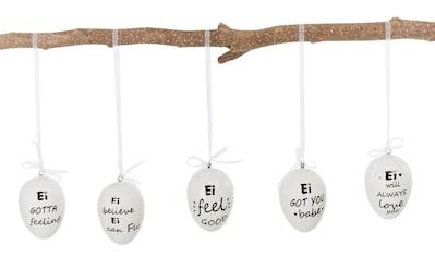 Osterei »Statement«, Deko-Hänger, mit unterschiedlichen Sprüchen kaufen