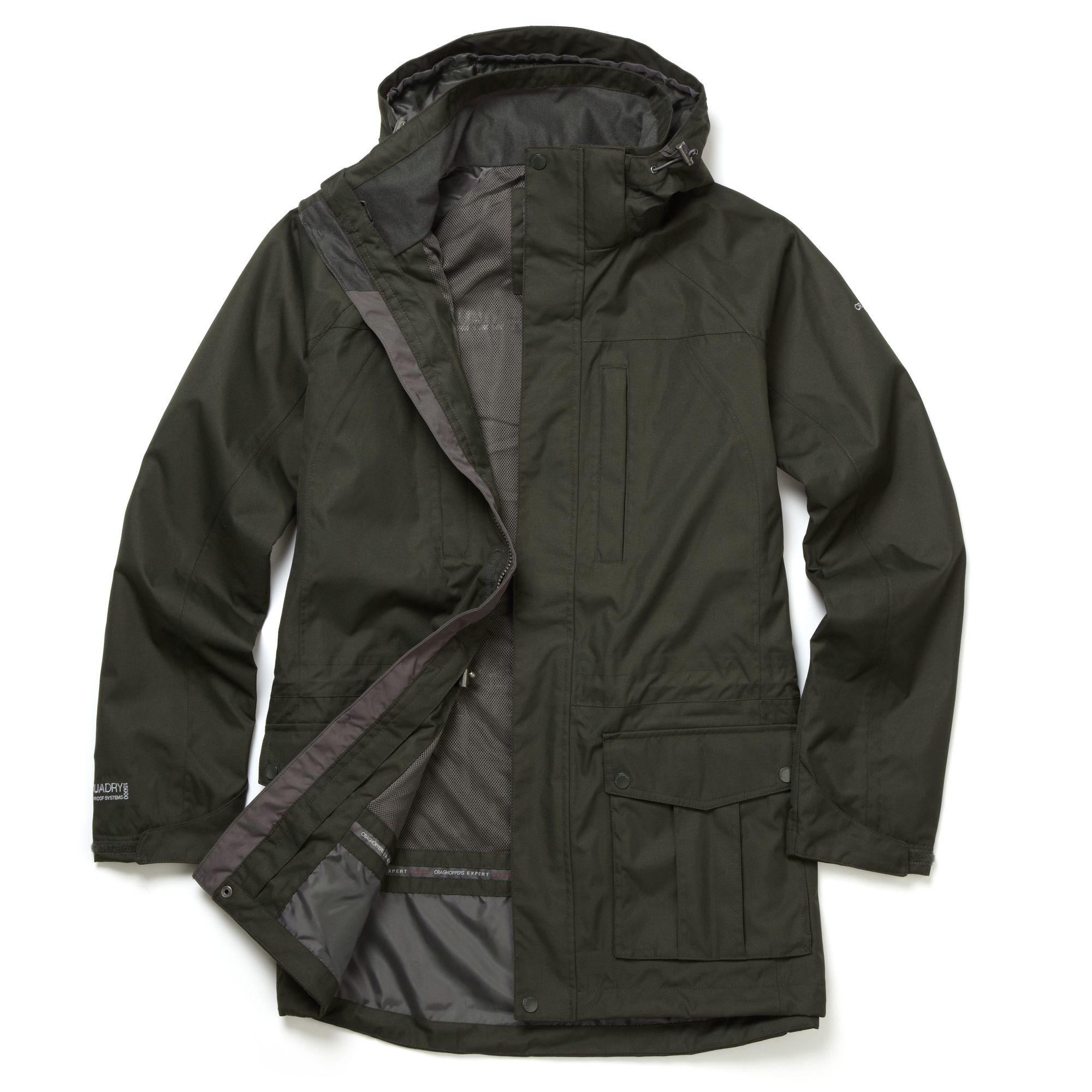 Craghoppers Allwetterjacke Mens Expert Kiwi Long Jacke   Bekleidung > Jacken > Sonstige Jacken   Craghoppers