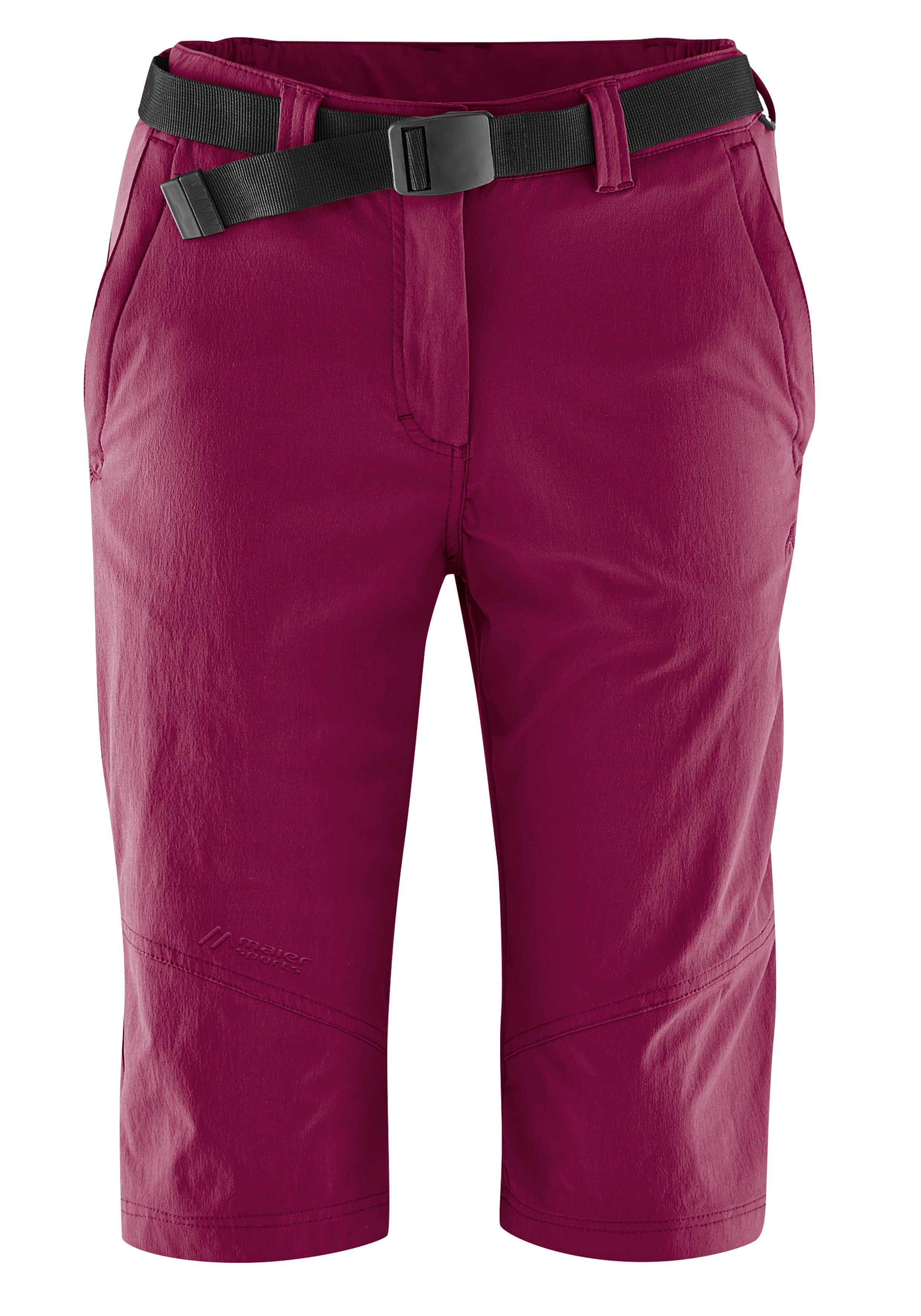 Maier Sports Funktionsshorts Lawa   Sportbekleidung > Sporthosen > Sportshorts   Rot   Maier Sports