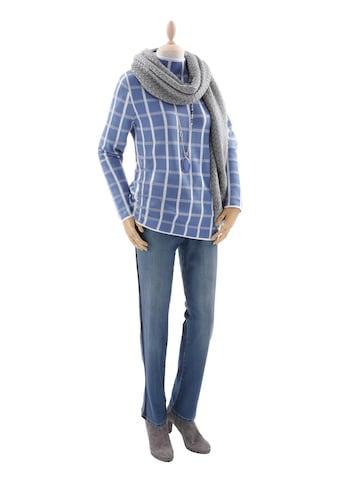 Pullover im Grafik - Karo kaufen