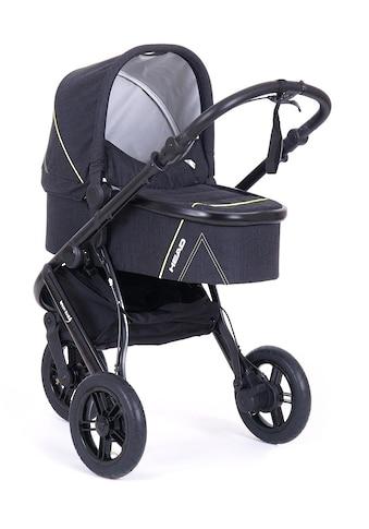 Knorrbaby Jogger-Kinderwagen »HeadSport 3, darkgrey-yellow«, Kinderwagen, Jogger,... kaufen