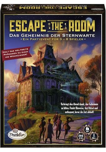 Thinkfun® Spiel »Escape the Room - Das Geheimnis der Sternwarte« kaufen