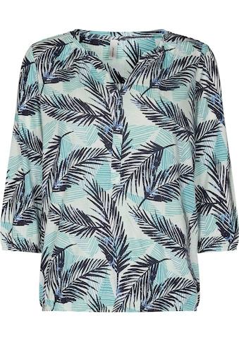 soyaconcept Print-Shirt, in Blatt-Design kaufen