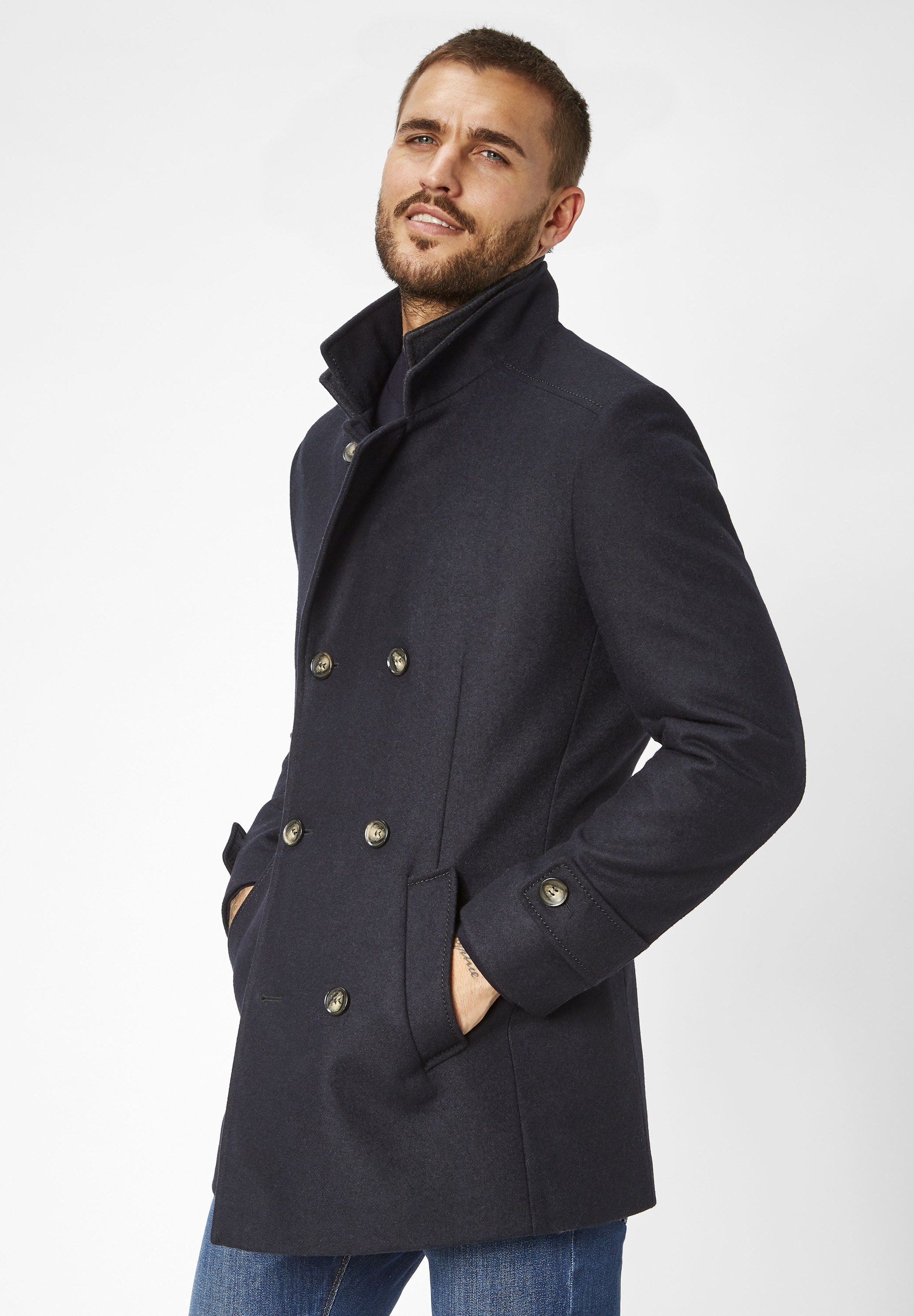 s4 jackets -  Wollmantel George