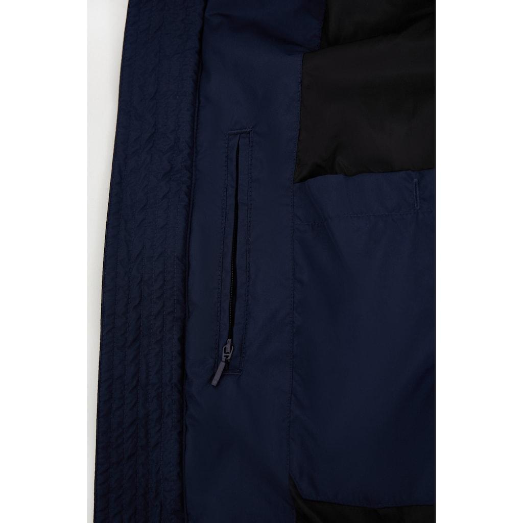 Finn Flare Daunenjacke, mit trendigem Steppmuster