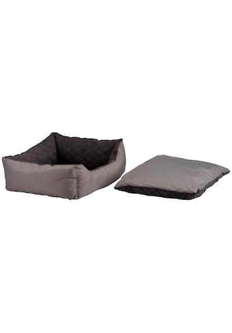SILVIO DESIGN Hundebett und Katzenbett »Abby Gr. 3«, B/L/H: 60/50/18 cm, grau kaufen