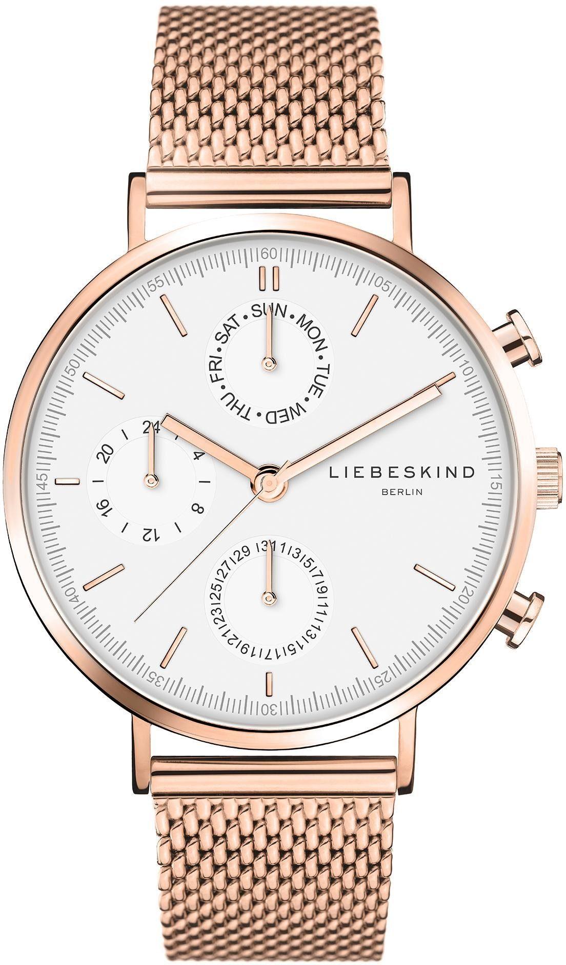 Liebeskind Berlin Multifunktionsuhr LT-0193-MM   Uhren > Multifunktionsuhren   liebeskind berlin