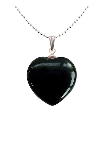 Adelia´s Amulett »Herz Steinanhänger«, Onyx Herzanhänger - steigert die Entschlossenheit kaufen