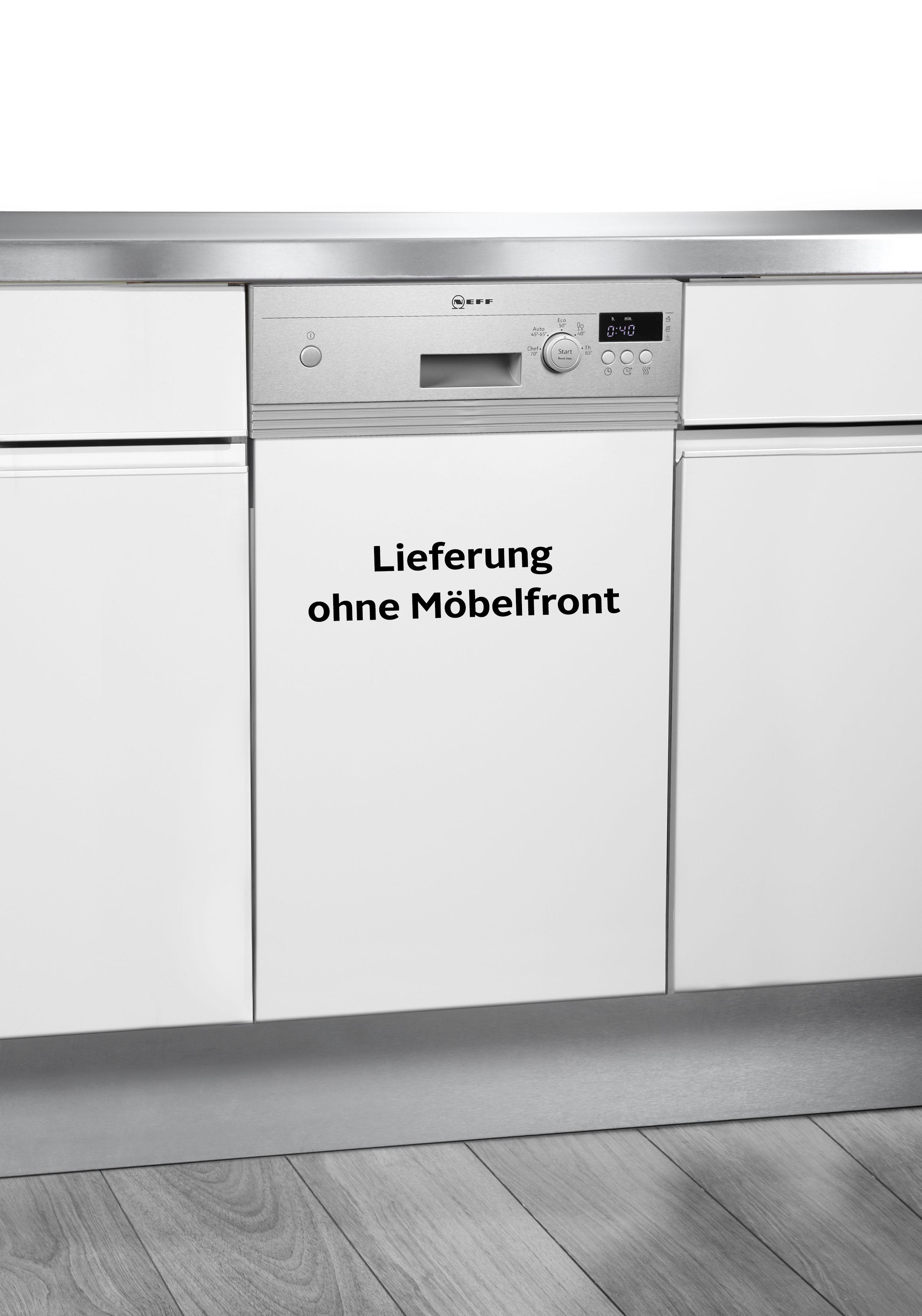 NEFF Teilintegrierbarer Geschirrspüler S481C50S3E 8 5 Liter 9 Maßgedecke | Küche und Esszimmer > Küchenelektrogeräte > Gefrierschränke | Neff