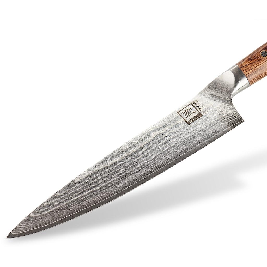 ZAYIKO Kochmesser »Kasshoku«, (1 tlg.), mit Pakkaholzgriff