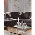 SOMPEX Windlicht »TAURA«, aus Glas, mundgeblasen, weiß