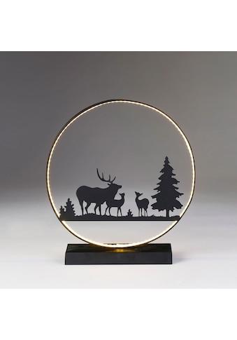 CHRISTMAS GOODS by Inge,LED Dekolicht»Silhouette Hirsch«, kaufen
