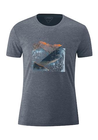 Maier Sports Funktionsshirt »Myrdal Print«, Leichtes Funktionsshirt mit modischem... kaufen
