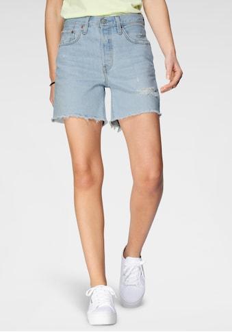 Levi's® Shorts »501 Mid Tigh Short«, mit Destroyed- Effekten kaufen