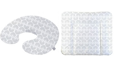 Rotho Babydesign Wickelauflage »Seashell Shape«, (Set, 2 tlg.), inklusive Stillkissen... kaufen