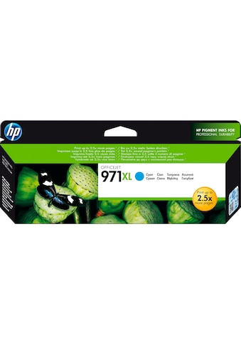 HP Tintenpatrone »hp 971XL Original Cyan«, (1 St.) kaufen