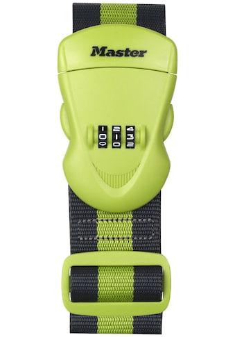 MASTER LOCK Koffergurt mit Zahlenschloss, 2 m kaufen