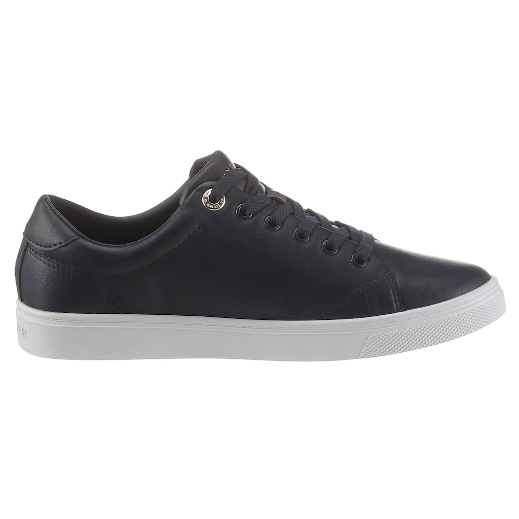 Tommy Hilfiger Sneaker »TOMMY MONOGRAM CASUAL SNEAKER«, mit farbiger TH-Stickerei