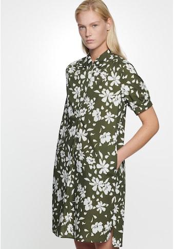 seidensticker Sommerkleid »Schwarze Rose«, Langarm Kragen Floral kaufen