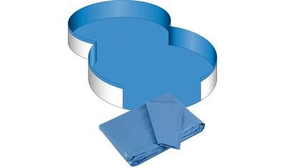 CLEAR POOL Pool - Innenhülle für Achtformbecken, 0,6 mm Stärke, in versch. Größen kaufen