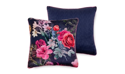 Descanso Dekokissen »Simone«, mit Blumendruck kaufen