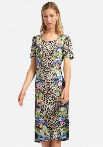 Peter Hahn Jerseykleid »Kleid mit Rundhals-Ausschnitt« kaufen