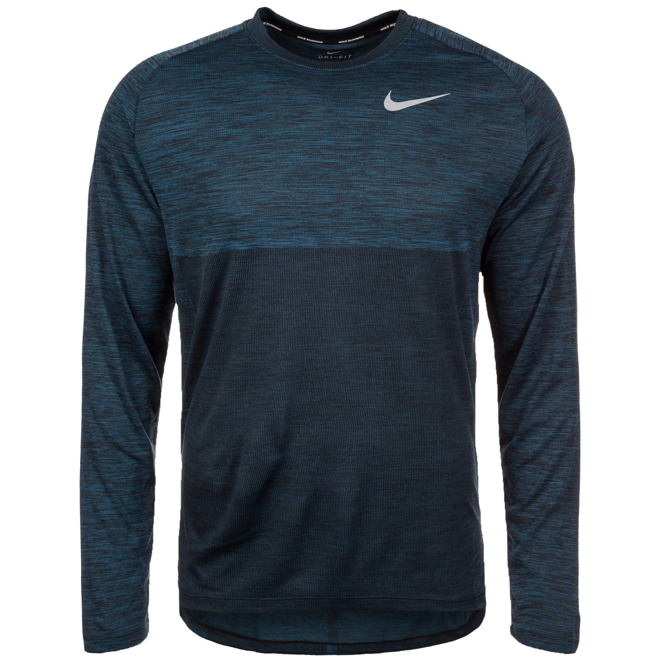 Nike Laufshirt Dry Medalist | Sportbekleidung > Sportshirts > Laufshirts | Blau | Nike