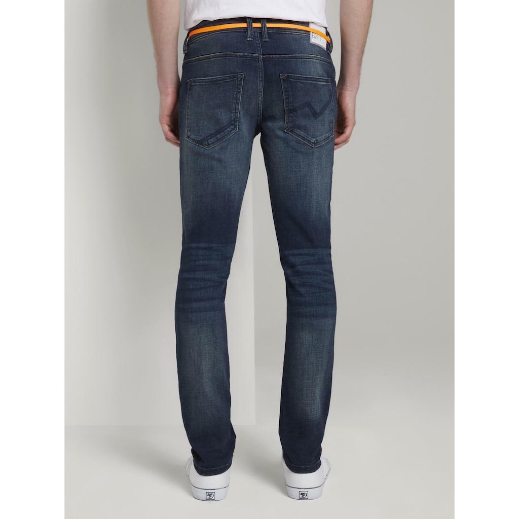 TOM TAILOR Denim Skinny-fit-Jeans »Culver Super Skinny Performance Stretch Effect«