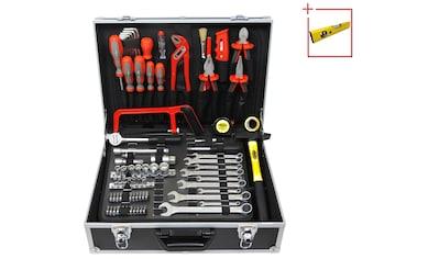 FAMEX Werkzeugset »759-63«, (125 St.), Werkzeugkoffer mit Werkzeug kaufen
