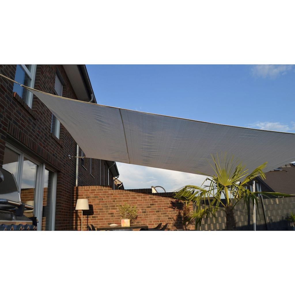 Floracord Sonnensegel, BxT: 500x400 cm, cremeweiß