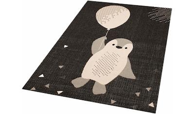 Kinderteppich, »Pinguin Rico«, Zala Living, rechteckig, Höhe 4 mm, maschinell gewebt kaufen
