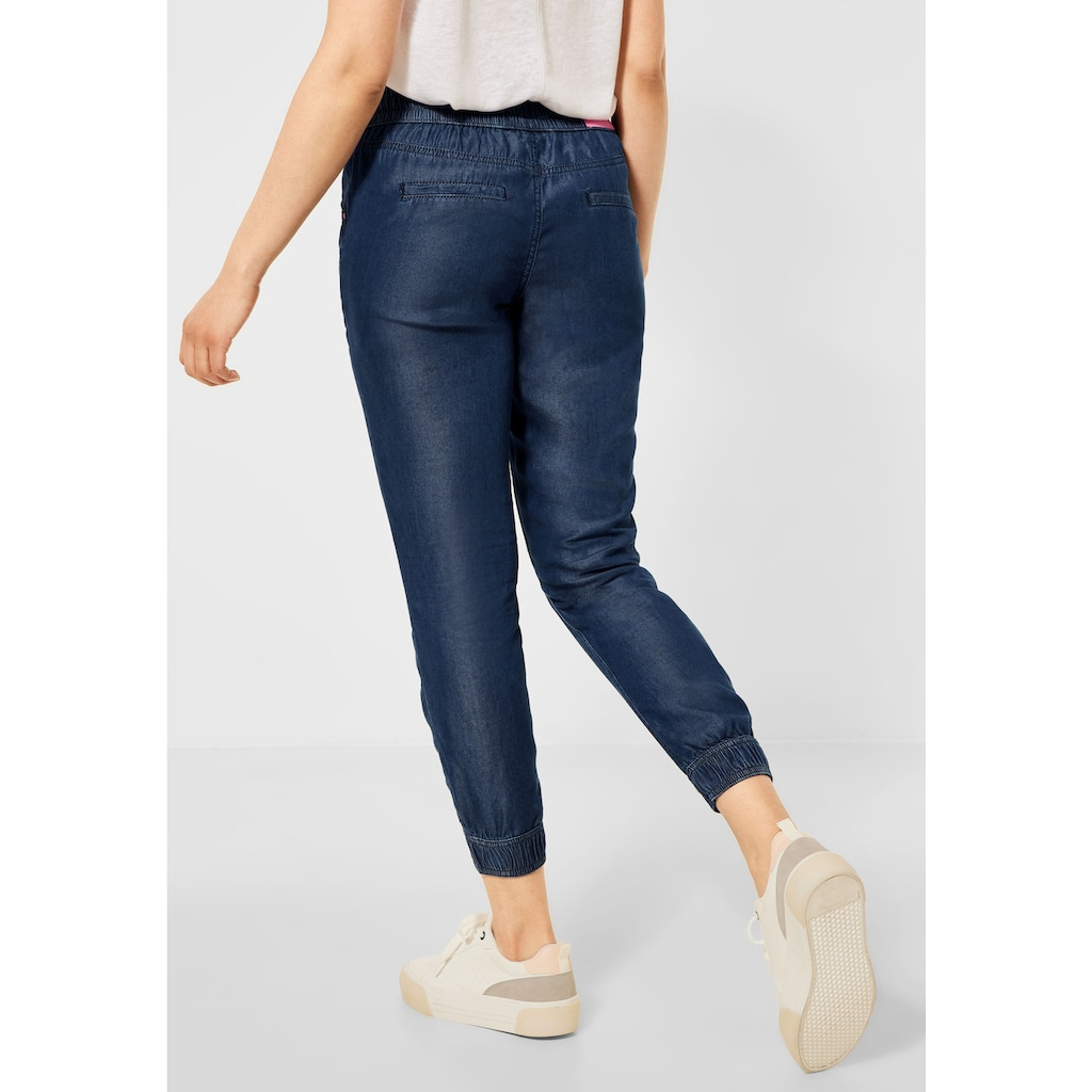 STREET ONE 7/8-Jeans, Middle Waist