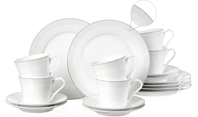 Ritzenhoff & Breker Kaffeeservice »Venezia«, (Set, 18 tlg.), puristisches Design kaufen