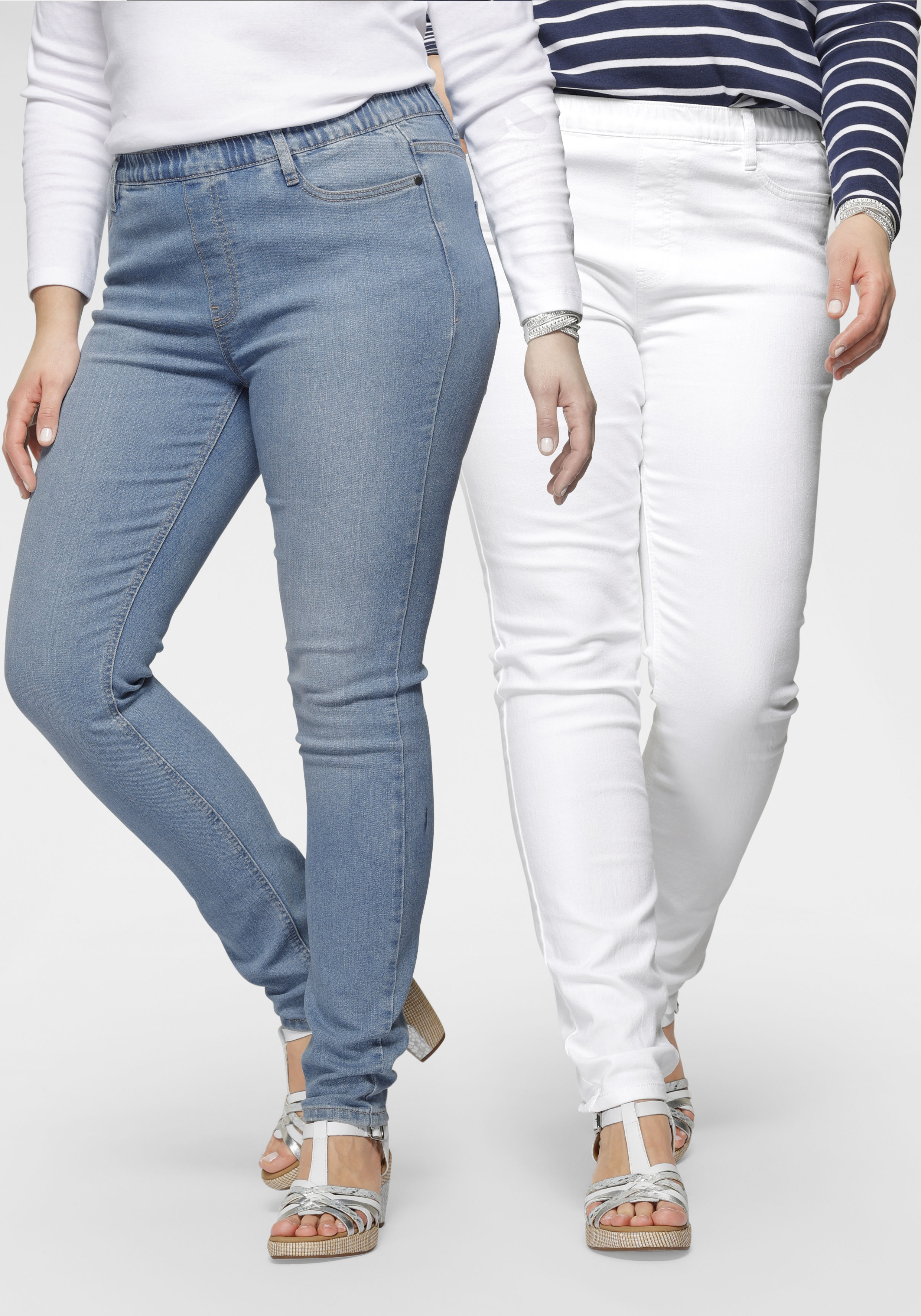 flashlights -  Jeansjeggings, (Packung, 2er-Pack), High Waist