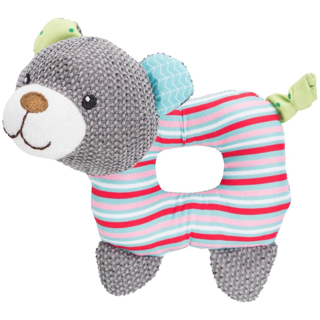 TRIXIE Tierkuscheltier »Junior Bär«, Polyester, 16 cm Länge